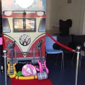 Startrax Photo Booth Hire Red VW Selfie Photo Booth