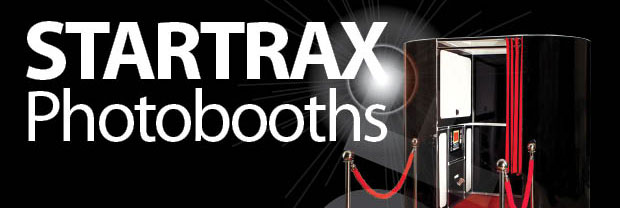 Startrax photo booth hire logo