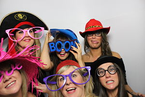 people having fun in one of our photo booths