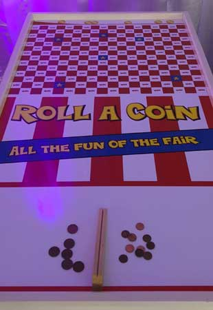 Roll A Coin retro game