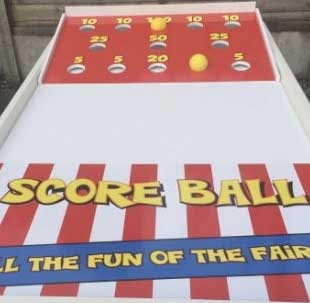 Score Ball retro game