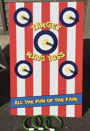 Target Ring Toss retro game